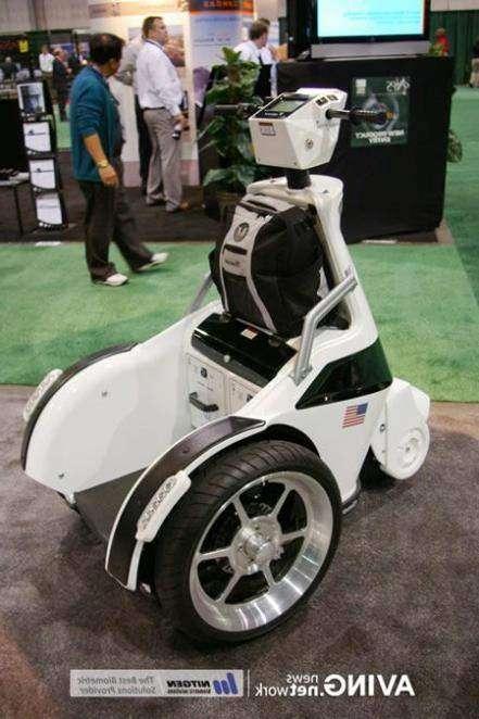 Полицейских пересадят на трехколесные скутеры