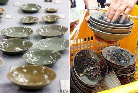 Осьминог помог найти затонувшую посуду