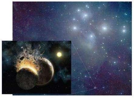 В Плеядах зарождаются новые планеты