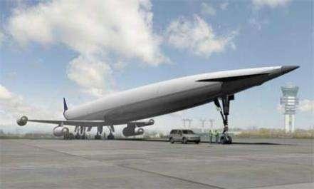Разработан гигантский сверхзвуковой самолет