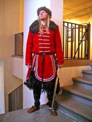 Как одевались викинги?