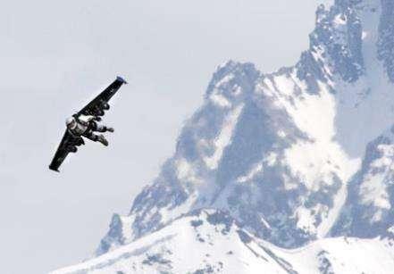 Над Альпами на реактивных крыльях