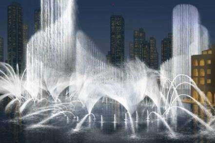 Проект фонтана в Дубае