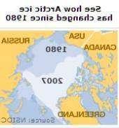 Лед Арктики
