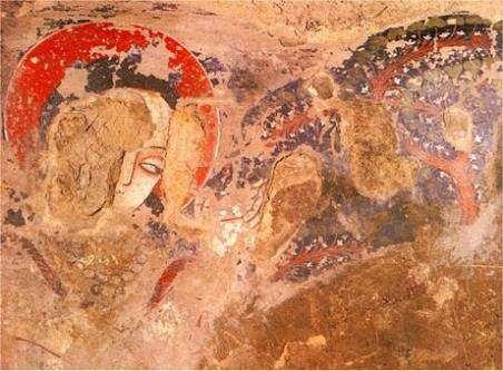 В буддийских пещерах в Афганистане использовали масляные краски