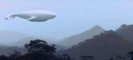 Летающий отель Manned Cloud