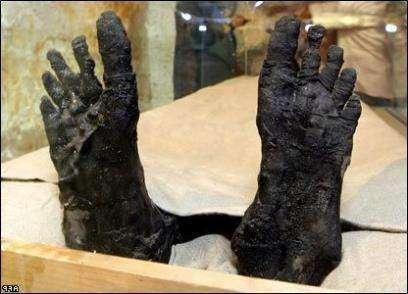 Впервые показано лицо Тутанхамона